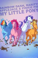 My Little Pony BADASS by Tohad