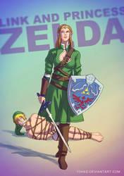 Princess Zelda BADASS by Tohad