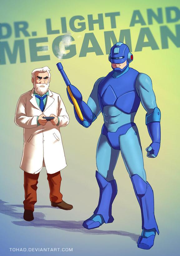 Megaman BADASS by Tohad
