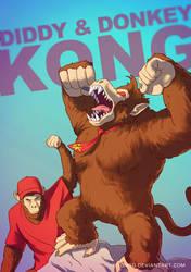 Donkey Kong BADASS by Tohad