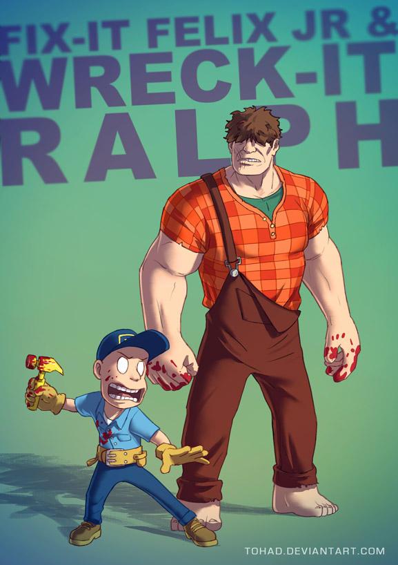 Wreck-it Ralph BADASS by Tohad