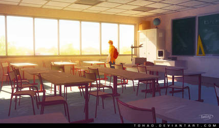 Classroom by Tohad