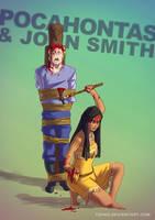 Pocahontas BADASS by Tohad