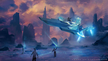 Welcome on Enceladus by Tohad