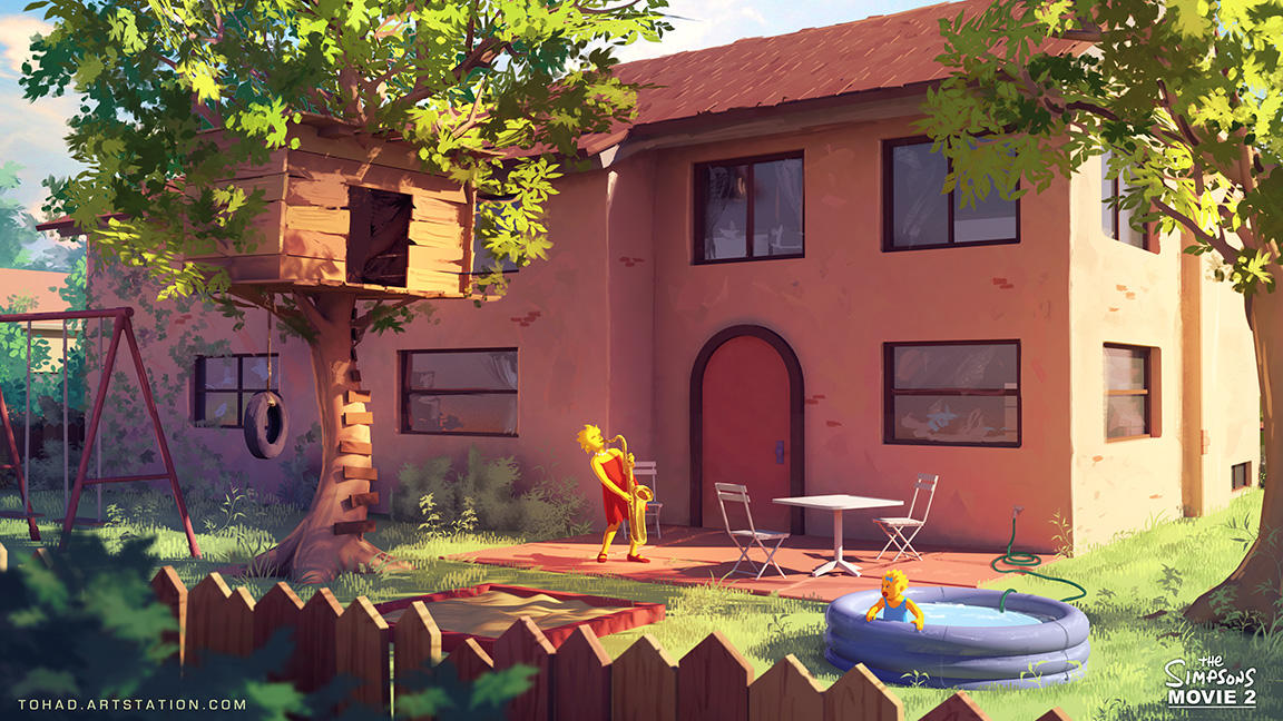 Springfield Memories - The Simpsons Movie 2 by Tohad