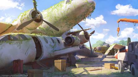 Aerodrome by Tohad