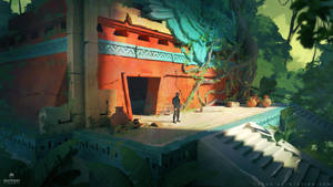 SOS concept art : ruins by Tohad
