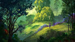 Forest of Liars : peaceful morning by Tohad