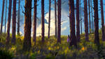 Forest of Liars : the smell of bark by Tohad