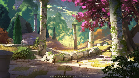 Forest of Liars : remains of the past by Tohad