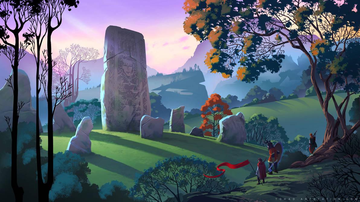 The Banner Saga Wallpaper: The Banner Saga Tribute By Tohad On DeviantArt