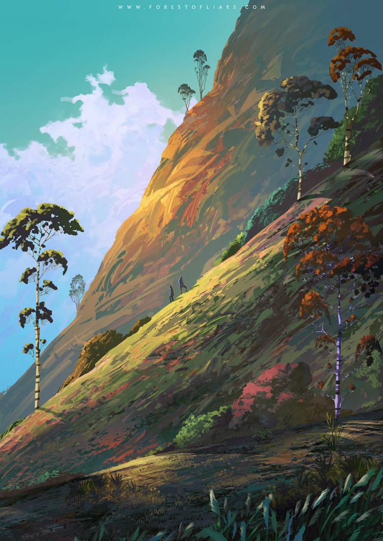 Diagonal Horizon by Tohad