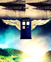 The TARDIS by brilliantjohn