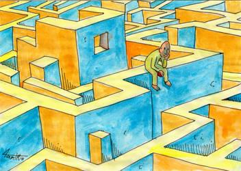 Maze with ball by Masklin8