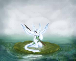 Tranquil Lagoon by Galaxyykitten
