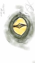 Eye of monster by Firepowerbaby