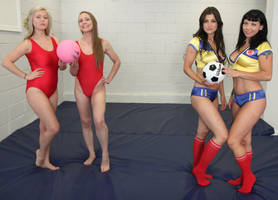 Team World Cup vs Team VolleyBall: Pic # 3. by sleeperkid