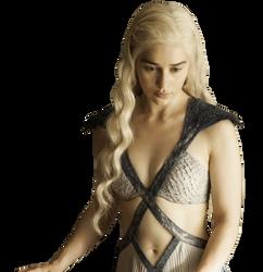 Daenerys Targaryen PNG by WeirdlySupernatural