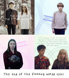 The End of the F***ing World Icons by WeirdlySupernatural