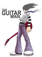 the guitar man by chroma-utek