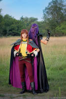 Slayers - Lina and Naga cos3 by GreatQueenLina