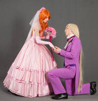Lina and Gourry wedding by GreatQueenLina