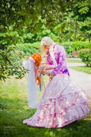 Lina and Gourry wedding_6 by GreatQueenLina