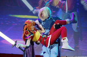 Lina and Gourry 7 by GreatQueenLina