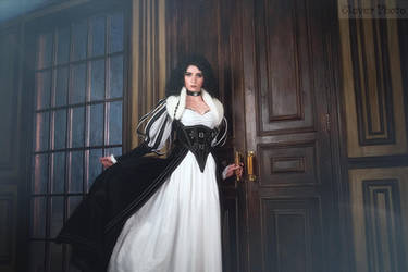 The Witcher books - Yennefer of Vengerberg by GreatQueenLina