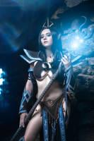 WarhammerFB - Druchii sorceress_6 by GreatQueenLina