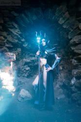 WarhammerFB - Druchii sorceress_7 by GreatQueenLina
