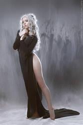 Black robe by GreatQueenLina