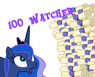 100 Watcher by LimeDreaming