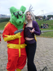 MCM Expo: Bucky O Hare x Kuja by LabyrinthLadyLover