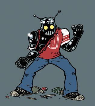 Teenage Robot by Eyemelt