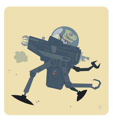 Star Wars Bossk and CAP-2 by Eyemelt