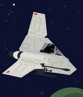 Star Wars ISP-6 Darth Vader by Eyemelt