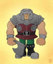 Masters of the Universe Ram-Man by Eyemelt