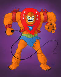 Masters of the Universe Beastman by Eyemelt