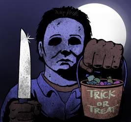 Michael Myers from Halloween by Eyemelt