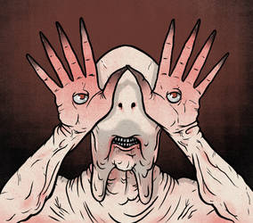 Pale Man from Pan's Labyrinth by Eyemelt