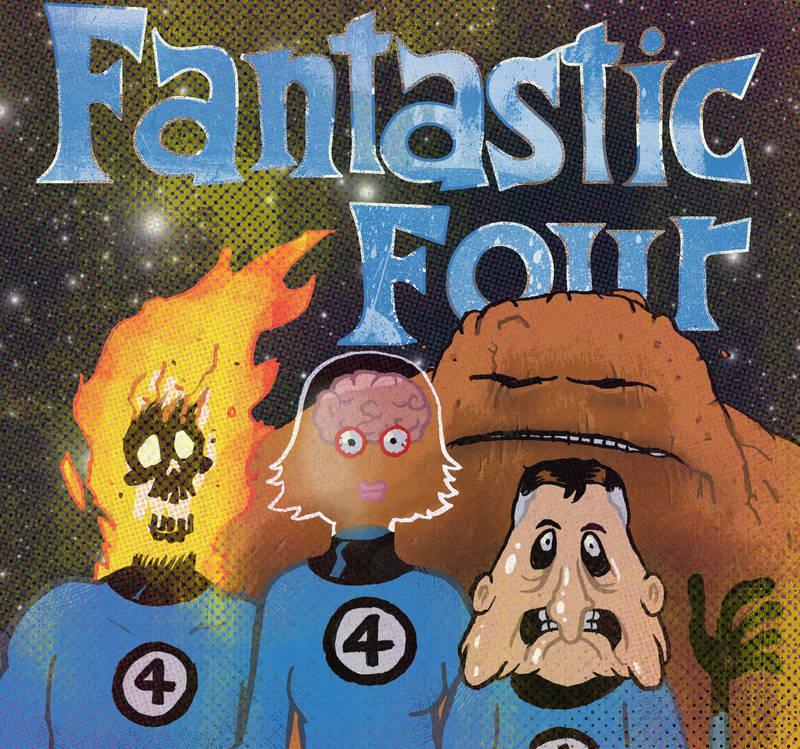 Fantastic Four by Eyemelt