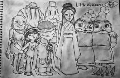 Little Nightmares by LadySweetEyes