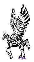 Pegasus Tattoo  Design by CrystalSerenity