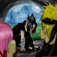 I Can't See You...Team7 by Blueyedblonde