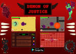 Demon of Justice Promotional Art by MorbidPanda1