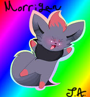 Morrigan by NightBlueMoon