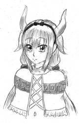FANART: Kanna Kamui by ryuki23