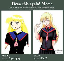 Ryo's DRAW THIS AGAIN MEME by ryuki23
