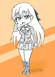Fanart: Tendou Karen by ryuki23